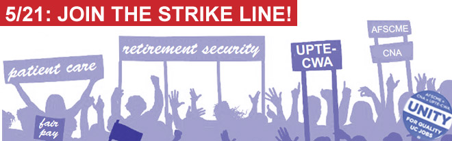 May 21: Join the strike line!