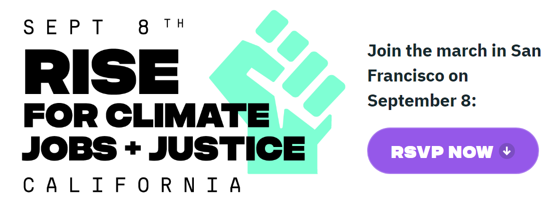 Rise for Climate: Jobs + Justice!
